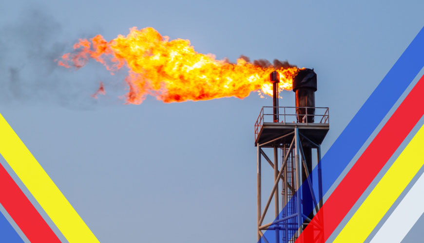 Gas Flare Control and monitoring process